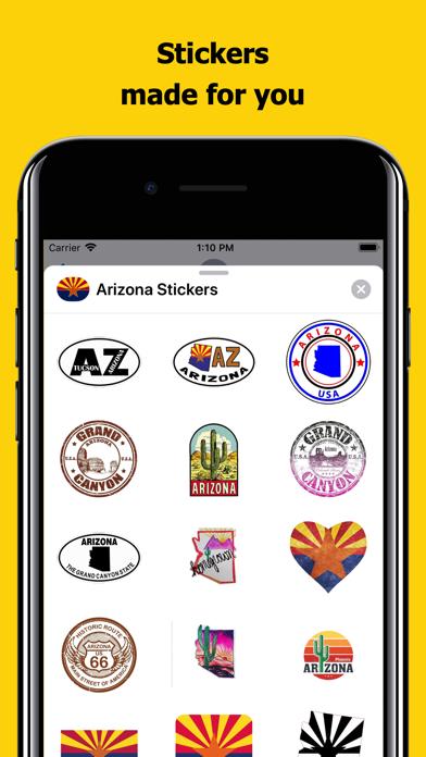 Arizona emojis - USA stickers screenshot 1