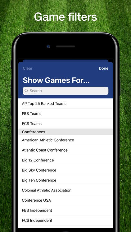 Scores App: College Football screenshot-7
