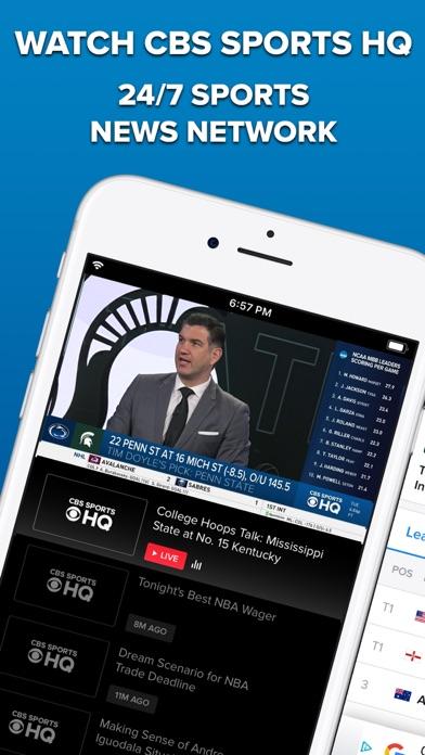 Cbs Sports App Scores News review screenshots
