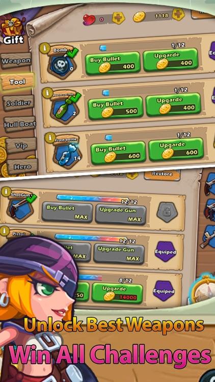 Pirate Defender: TD Shooting screenshot-3