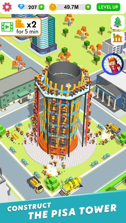 Idle Construction 3D screenshot-5