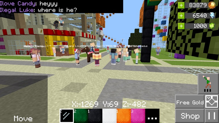 Builder Buddies Online Blox VR screenshot-3