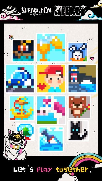 Strange Cat Puzzle Games screenshot-3