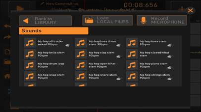 Screenshot for Song Maker : Free Music Mixer in United Kingdom App Store
