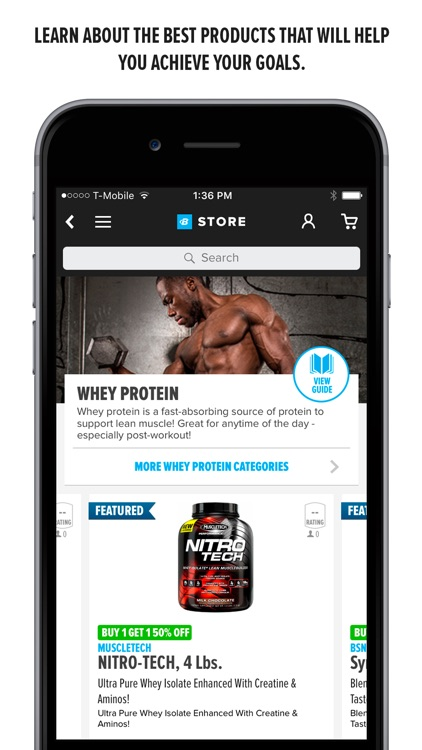 Bodybuilding.com Store