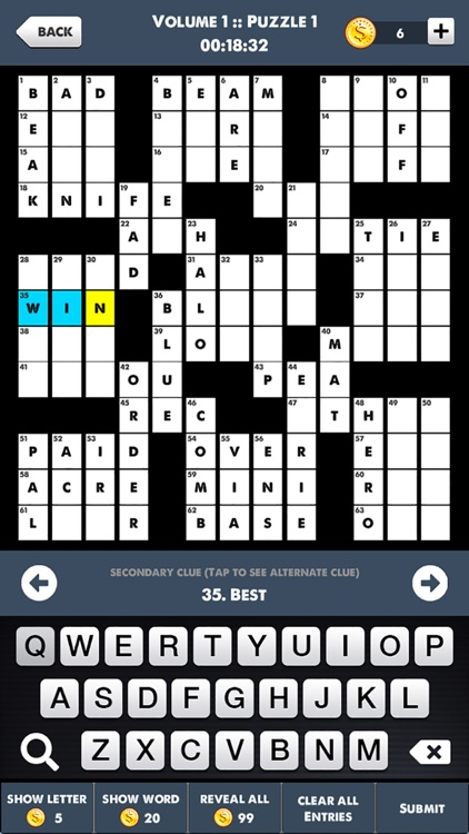 Crosswords Games - Word Puzzle screenshot-4