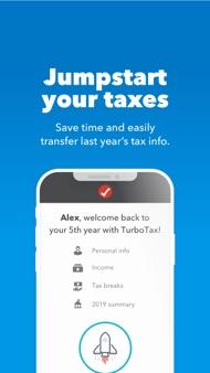 TurboTax Tax Return App iphone images