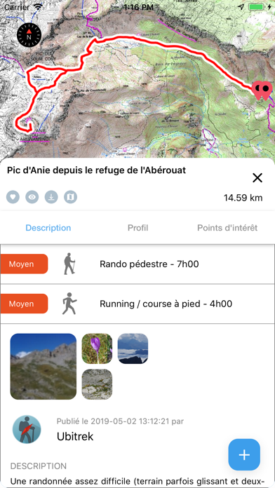 IGNrando' – Hiking in Franceのおすすめ画像5
