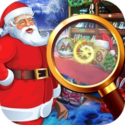Christmas Hidden Object puzzle