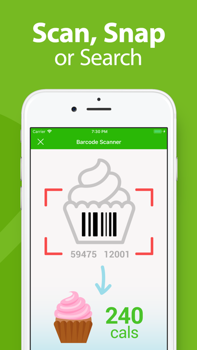Screenshot for MyNetDiary PRO Calorie Counter in South Africa App Store