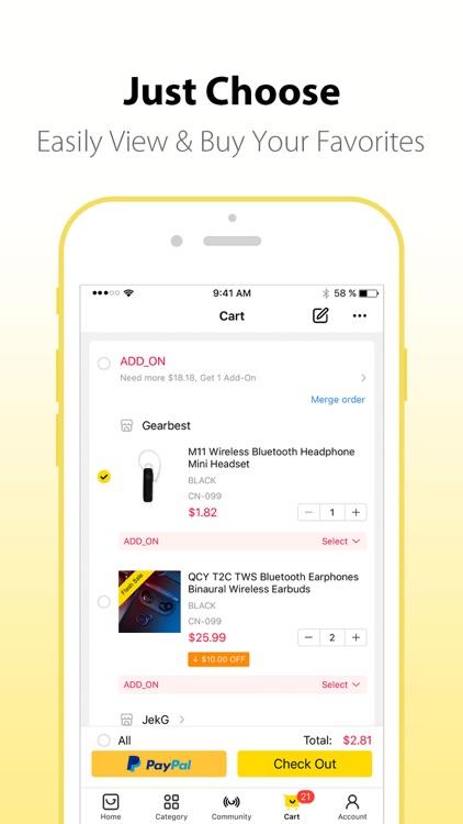 Gearbest Online Shopping screenshot-4
