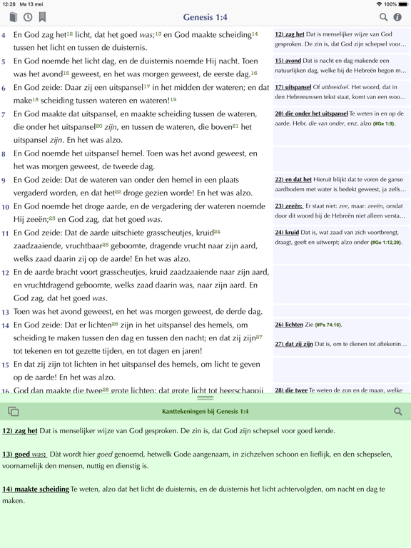 Bijbel+Kant iPad app afbeelding 2