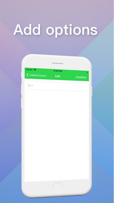 LikeDecision screenshot 4