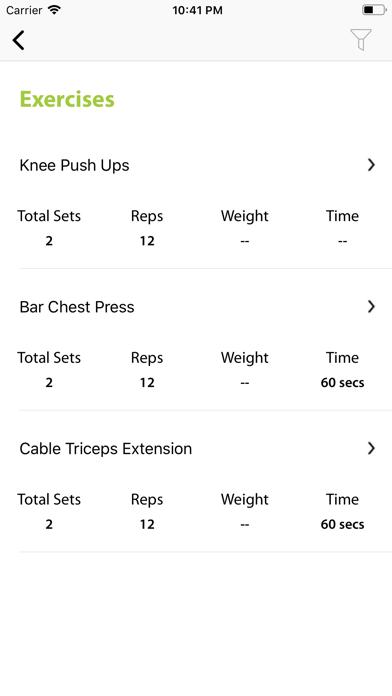 Fitness Horizon screenshot 3