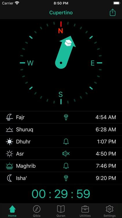 Muezzin - Salat, Qibla, Quran screenshot-5