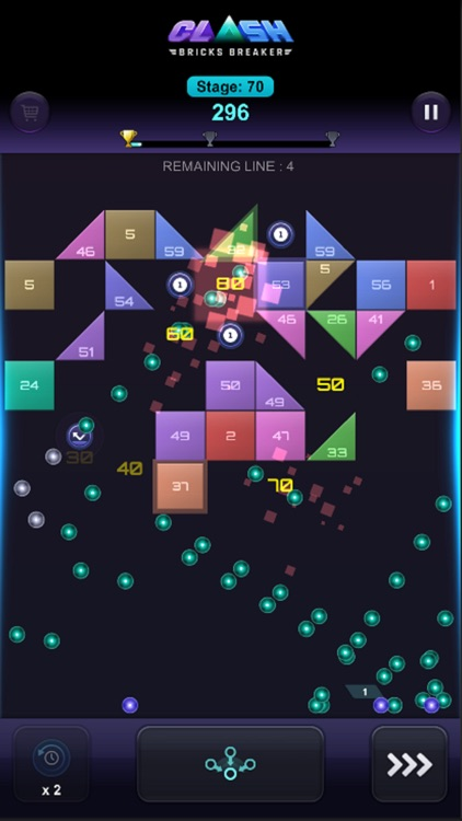 Bricks Breaker Clash screenshot-9