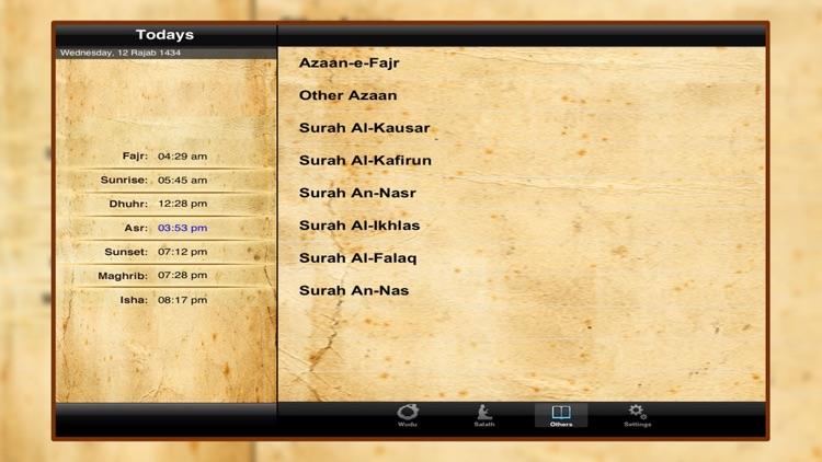 Salat Helper Ramadan Namaz App screenshot-4