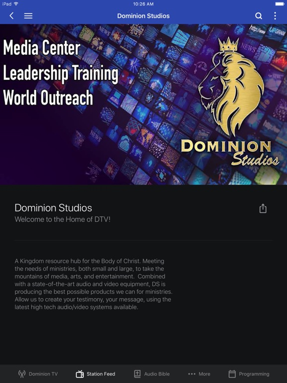 Dominion TV screenshot 6