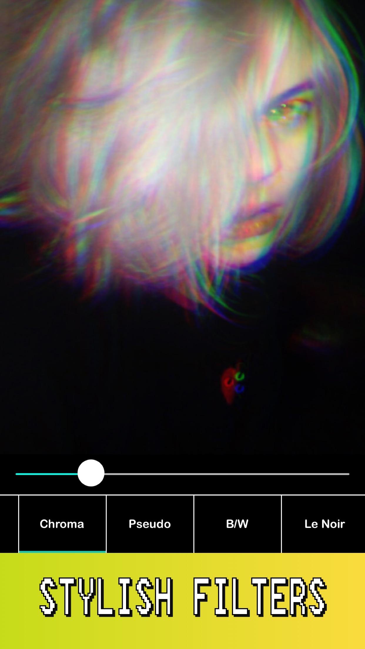 R4VE - Photo Editor & Camera Screenshot
