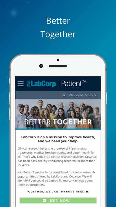 Labcorp   PatientScreenshot of 3