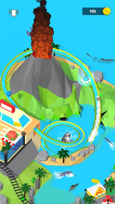 Idle Dino Theme Park screenshot 3