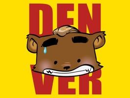 Denver The Bear Sticker Pack