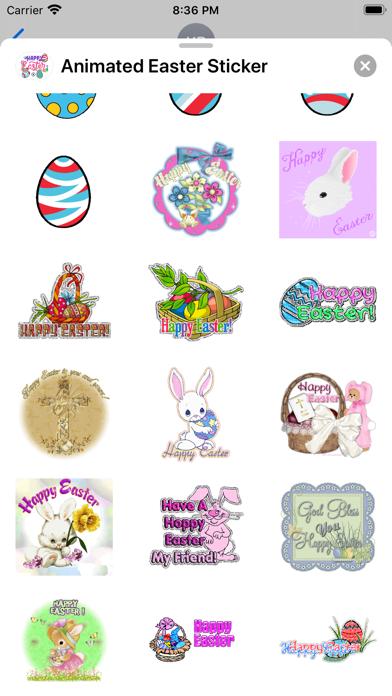 Animated Easter Sticker screenshot 3