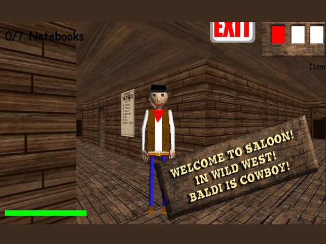 Sheriff Baldi in Wild West on the App Store