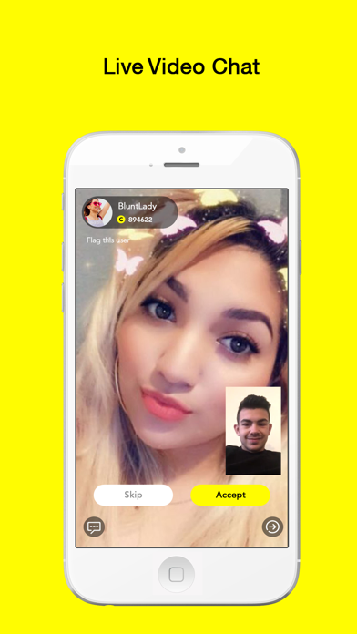 Hippo - Random Live Video Chat Screenshot