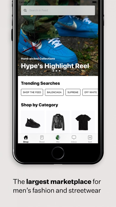 Screenshot #2 pour Grailed - Buy & Sell Clothing