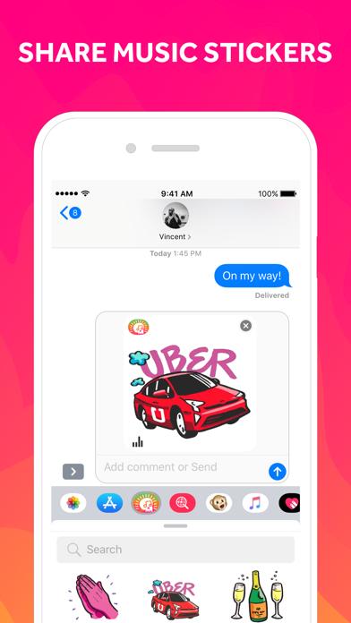 EmoJam - Music Stickers screenshot three