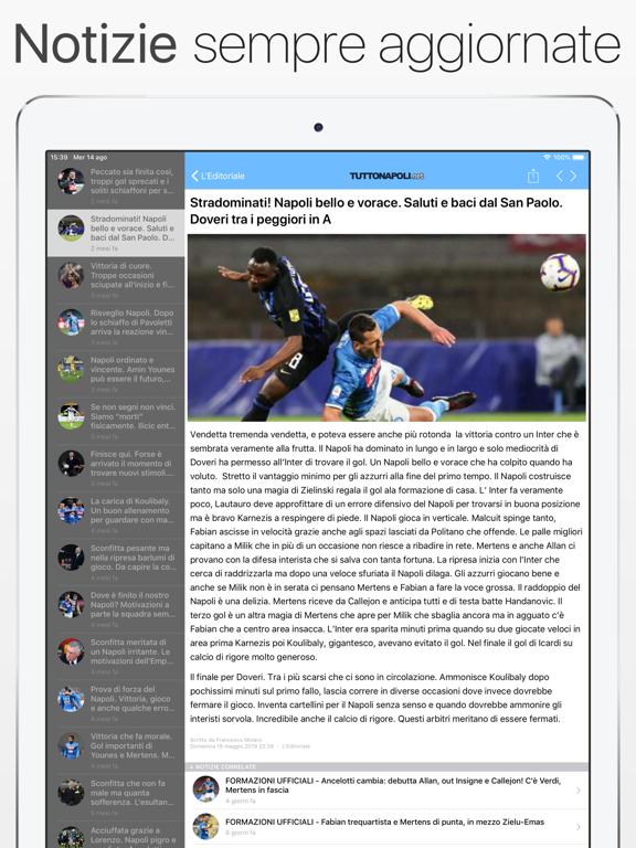 Screenshot #4 pour TuttoNapoli.net