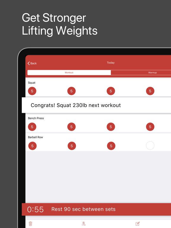 StrongLifts 5x5 Weight Lifting | App Price Drops