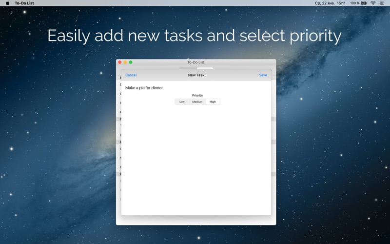 To-Do List & Task Manager for Mac