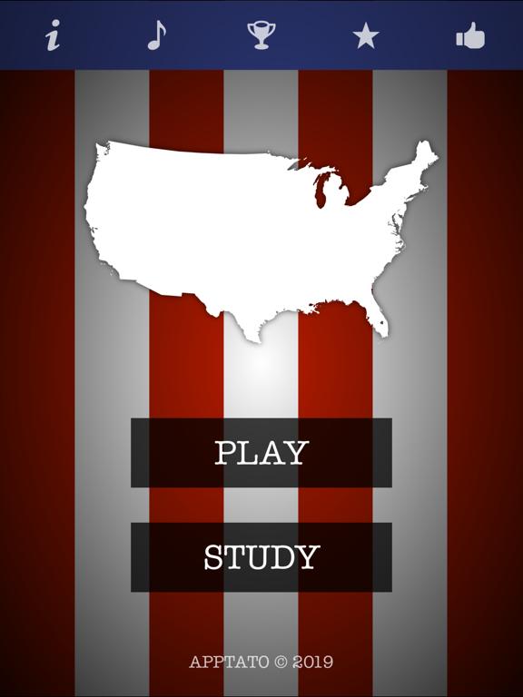 米国の州クイズ(完全版)のおすすめ画像1