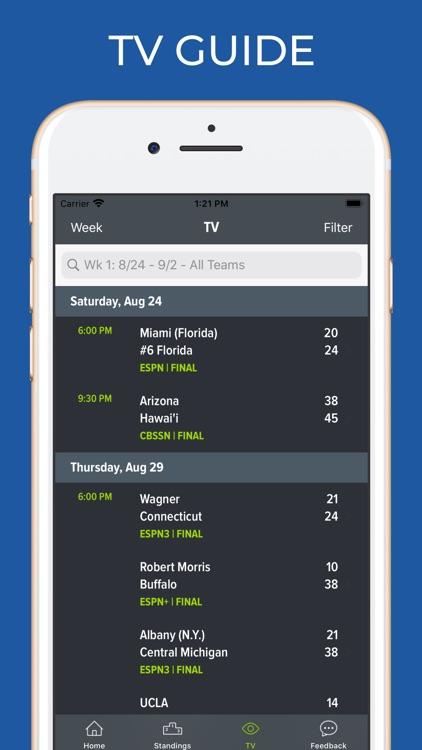 Arkansas Football Schedules screenshot-6