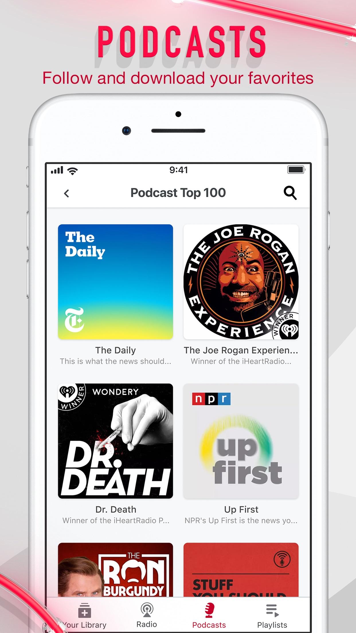 iHeartRadio - Radio & Podcasts Screenshot