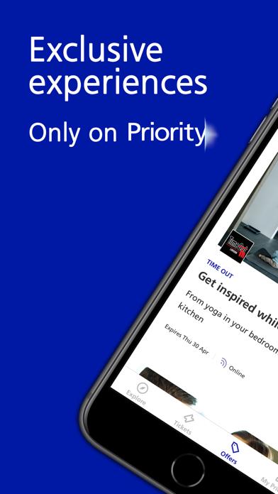 Priority - Tickets & Perks screenshot one