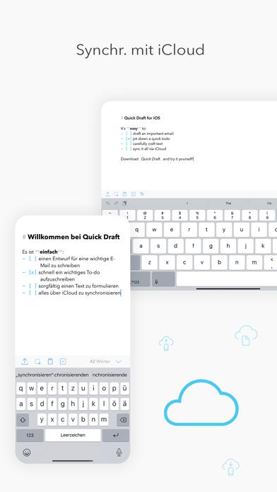 Quick Draft: SchmierblockScreenshot von 5
