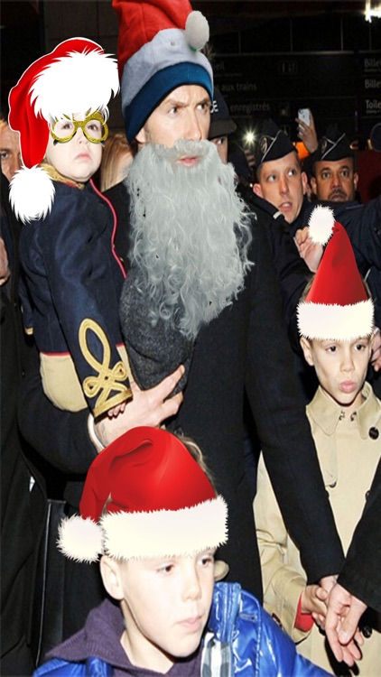 Make Santa Claus - Xmas Booth screenshot-4