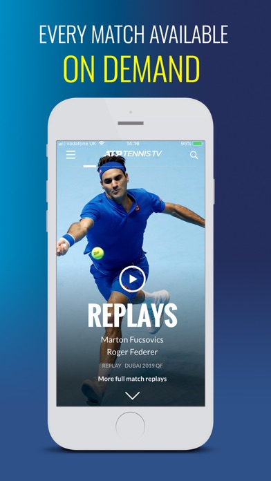 Tennis TV - Live Streaming Screenshot