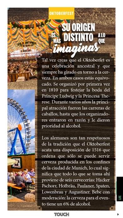 Touch Magazine HD screenshot two