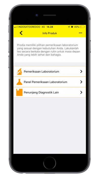 Prodia Mobile screenshot four