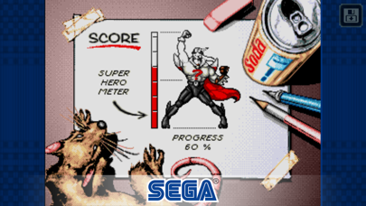 Screenshot from Comix Zone Classic