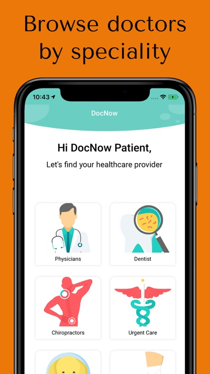 DocNow: Find Doctors Now