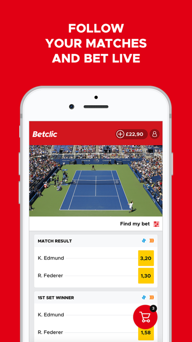 Betclic – Live Sports Betting screenshot three