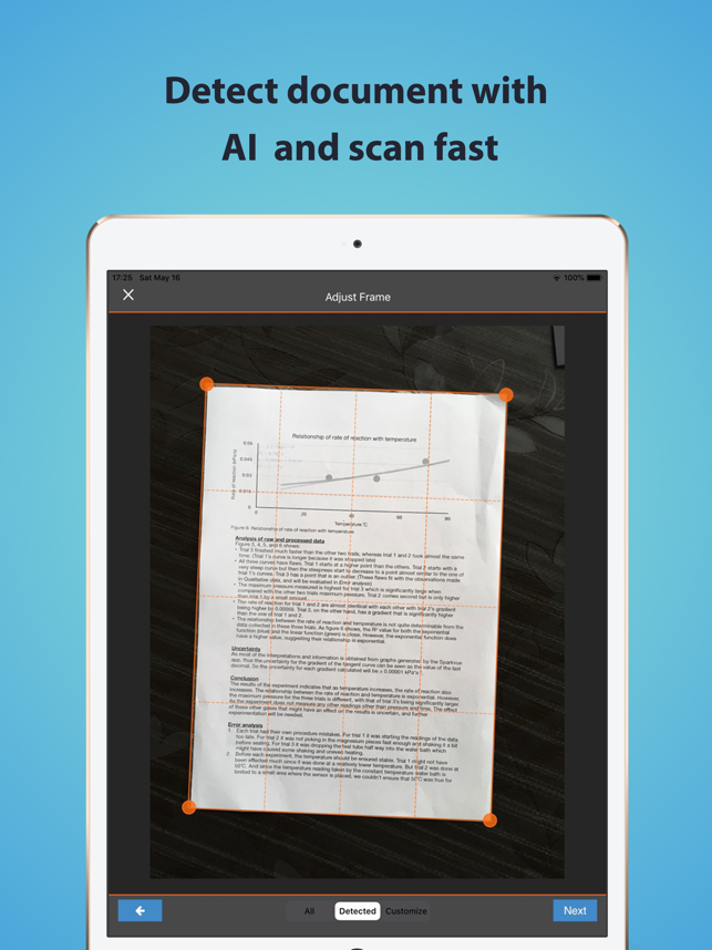 ‎TopScanner : PDF Scanner App Screenshot