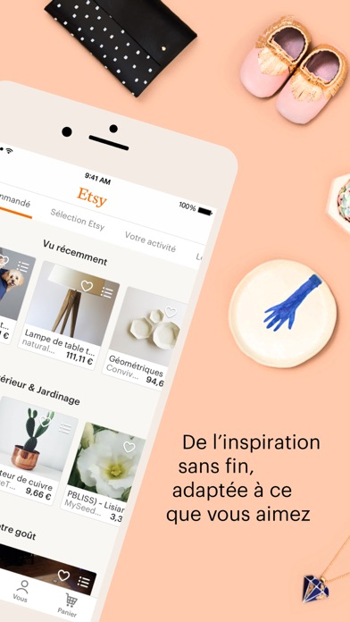 Screenshot for Etsy – Articles créatifs in France App Store