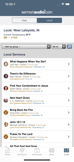 SermonAudio on the App Store