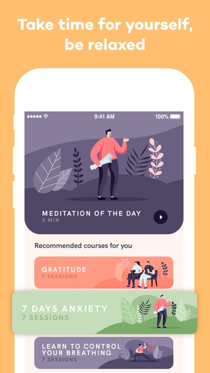 Meditation App screenshot-4